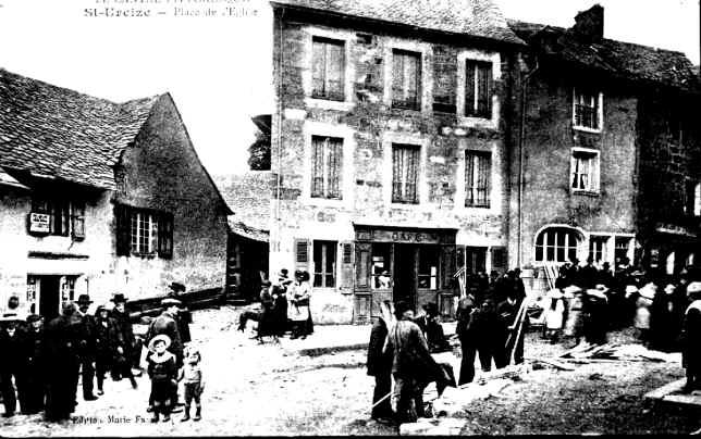 Carte postale ancienne de Saint-Urcize